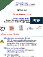 CNRS Froid Magnetique