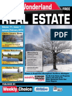 Water Wonderland Real Estate Guide - December 2013
