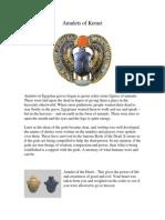 Amulets of Kemet