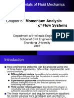 fluid momentum