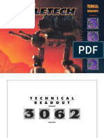 183961059 Battletech Technical Readout 3062 Fan Made PDF