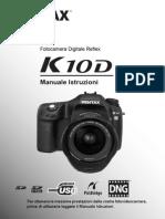 Pentax K10D Manuale Utente Ita
