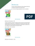 Math Skills Workbooks