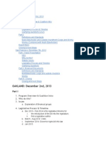 Worker Coop Statute Feedback Forum Minutes