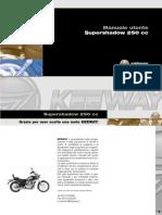Manuale Utente Keeway Super Shadow 250cc OMEDILO
