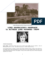 Lord Inverclyde's Marriage to June Tripp
