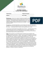 BioVeda Informed Consent