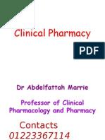 Fattah Clinical Pharmacy 1