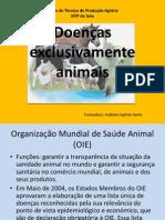 2- Doenças exclusivamente animais