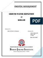 Ground Water Depletion