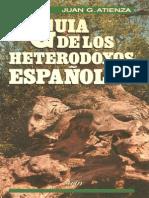 Atienza, Juan - Guía de los Heterodoxos Españoles
