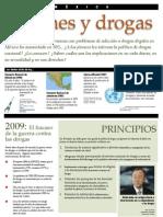Jovenes y Drogas en México 2009
