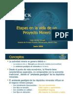 Hugo Herrera Etapas en La Vida Proyecto minero
