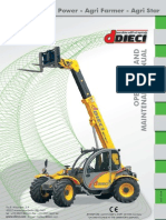 Operation & Maintenance Manual - Dieci