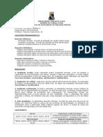 Percepção e solfejo 2 - Programação - 2012(1)