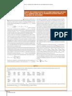 Covarianza y Coeficiente de Correlacion de La Rentabilidad de Dos Acciones