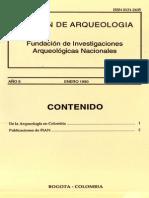 Boletin de Arqueologia  FIAN año 5 n1