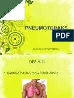 Pneumotorak revisi