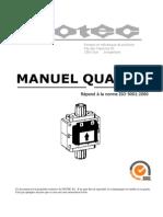 Manuel Qualite 2008