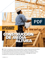 Edificación en Madera - Construcción a media altura