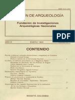 Boletin de Arqueologia  FIAN año 8 n1
