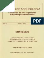 Boletin de Arqueologia  FIAN año 8 n2