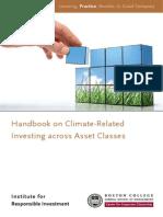 Handbook ClimateRelatedInvesting