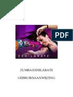 Zumba Exhilarate Gebruiksaanwijzing_1662929605