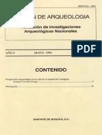 Boletin de Arqueologia  FIAN año 9 n2