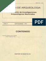 Boletin de Arqueologia  FIAN año 9 n3