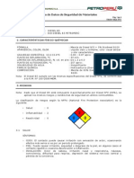 Hoja Datos Seguridad Diesel B5 (MSDS)