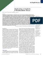Epidemiology and Pathophysiology of NS Associated Thromboembolic Disease