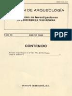 Boletin de Arqueologia  FIAN año 10 n1