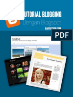 Tutorial Blogging Dengan Blogspot