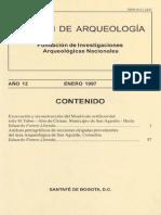 Boletin de Arqueologia  FIAN año 12 n1
