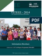 VITEEE2014 Information Brochure(1)