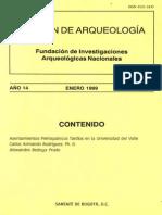 Boletin de Arqueologia  FIAN año 14 n1