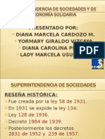 SUPERINTENDENCIA DE sociedades y de Economía SOLIDARIA