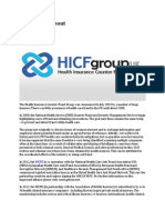 HICF Group, About