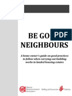 Be Good Neighbours