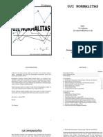 Uji Normalitas Data Statistik