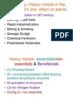 Heavy Metals & Plants