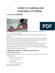 A Short Guide to Leading and Lagging Indicators of Safety Performance