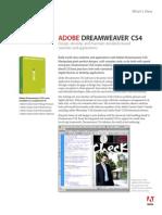 Cs4 Dreamweaver Whatsnew