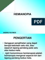 Hemianopia