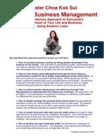 Spiritual Business Management