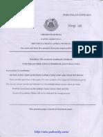[Domeedu.joshuatly.com] Selangor STPM Trial 2011 Chemistry Paper 1