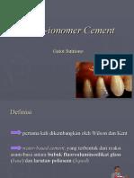 3 Glass IonomerCement