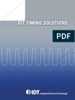 Integrated Device Technology - Timing Solutions