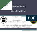Case Mola Hidatidosa Aril